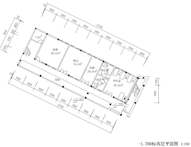 老房子框架结构图
