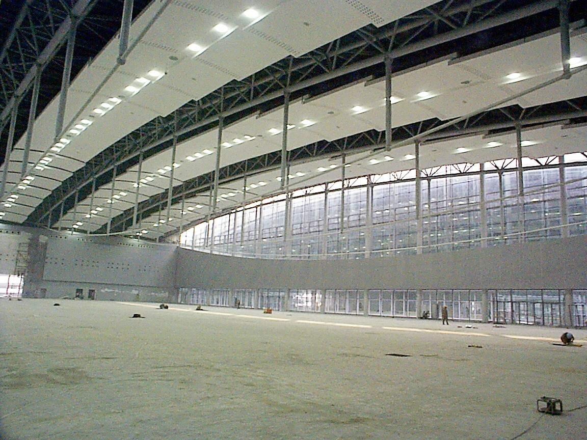 re:广州国际展览中心钢结构照片