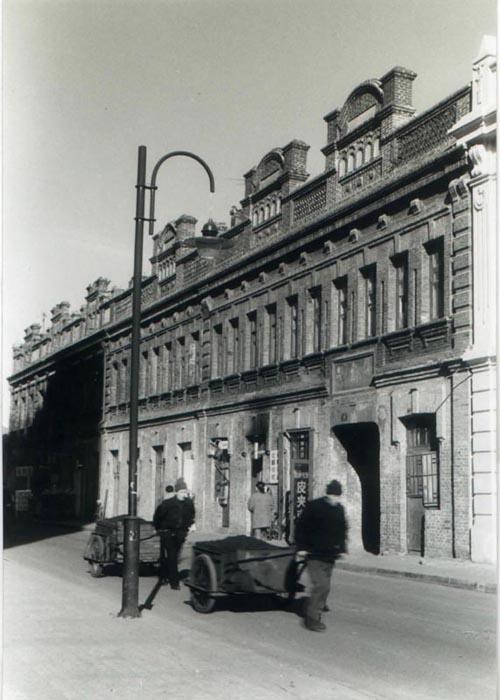 我们这里的欧式建筑(三)黑白照片
