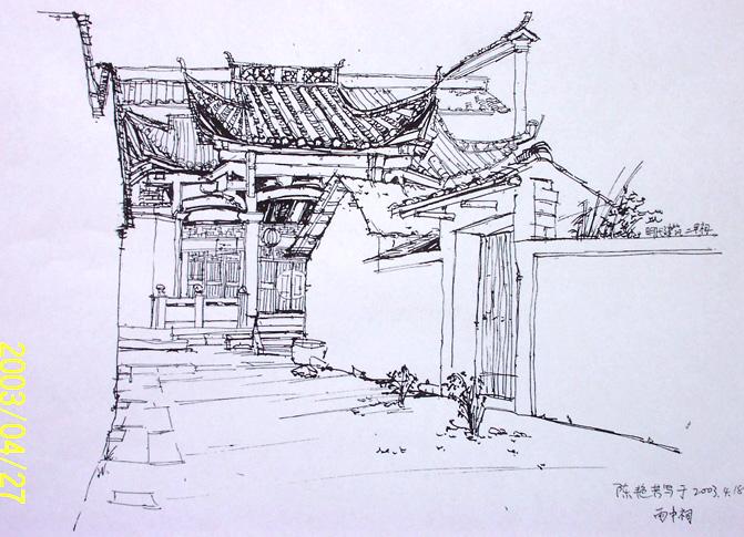 简笔画 手绘 素描 线稿 671_485