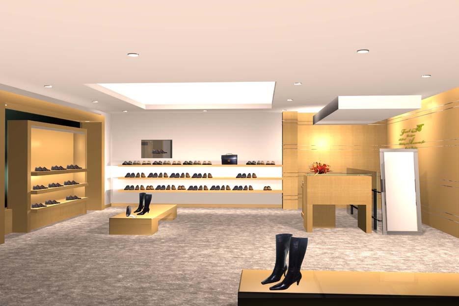 15平方鞋店装修效果图